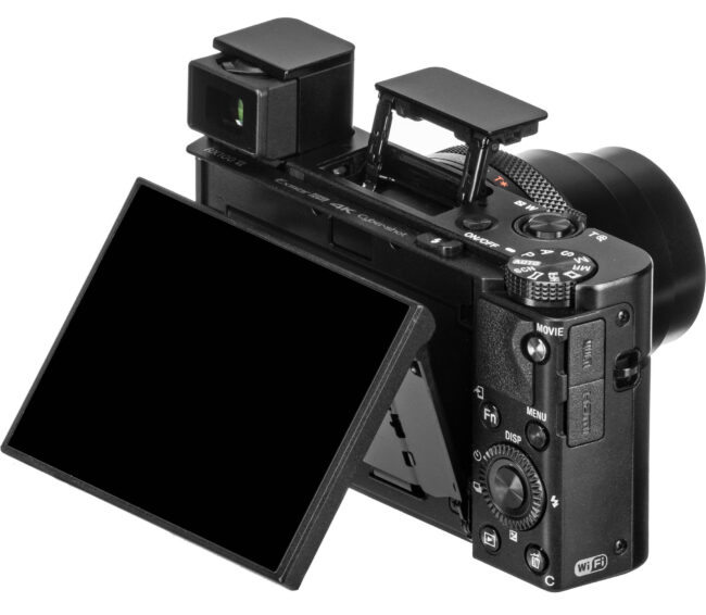 RX100 VI Tilt Screen and Viewfinder