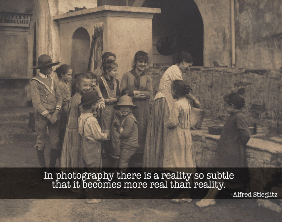 Alfred Stieglitz Photography Reality