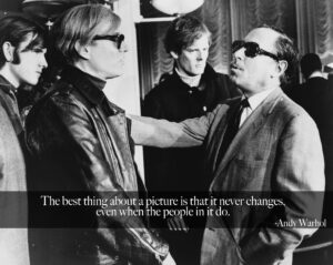 Andy Warhol Picture Never Changes