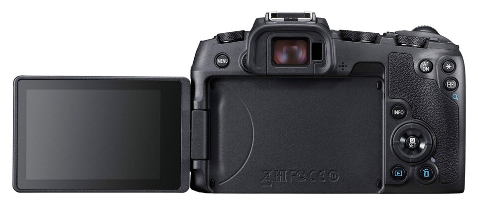 Canon EOS RP Articulating Rear Screen