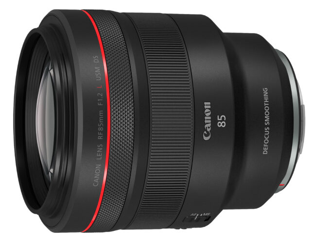 Canon RF 85mm f1.2 L DS