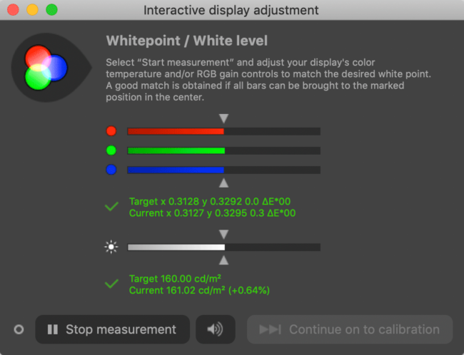 DisplayCAL Interactive Display Adjustment