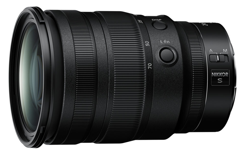 Nikon Z 24-70mm f2.8 S Custom Fn Buttons