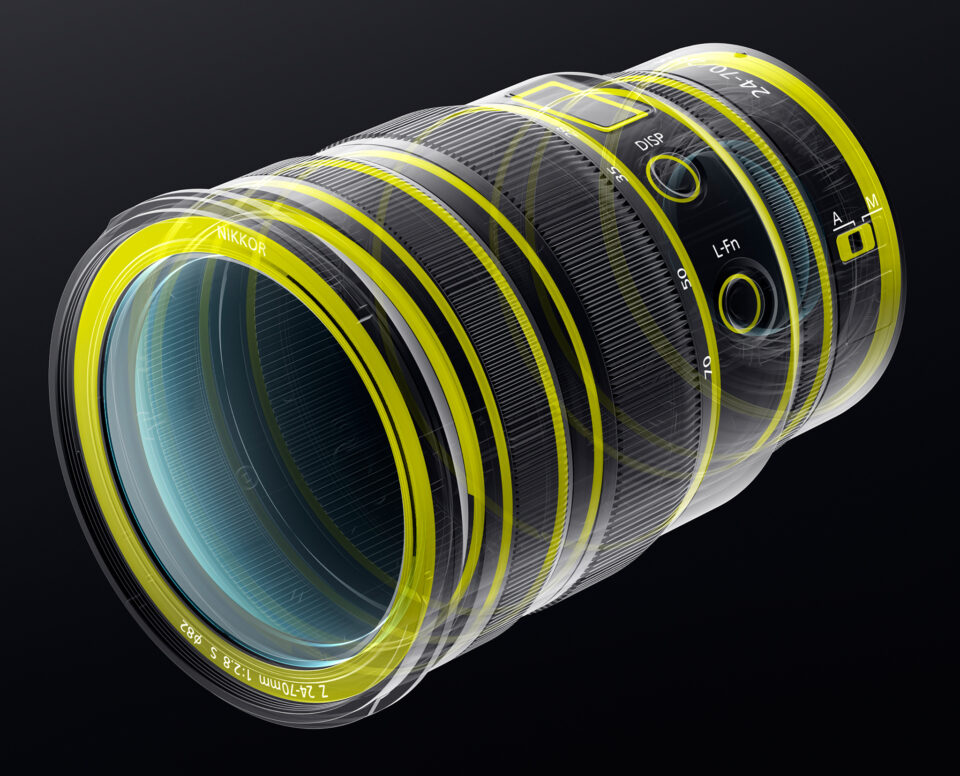 Nikon Z 24-70mm f2.8 S Weather Sealing
