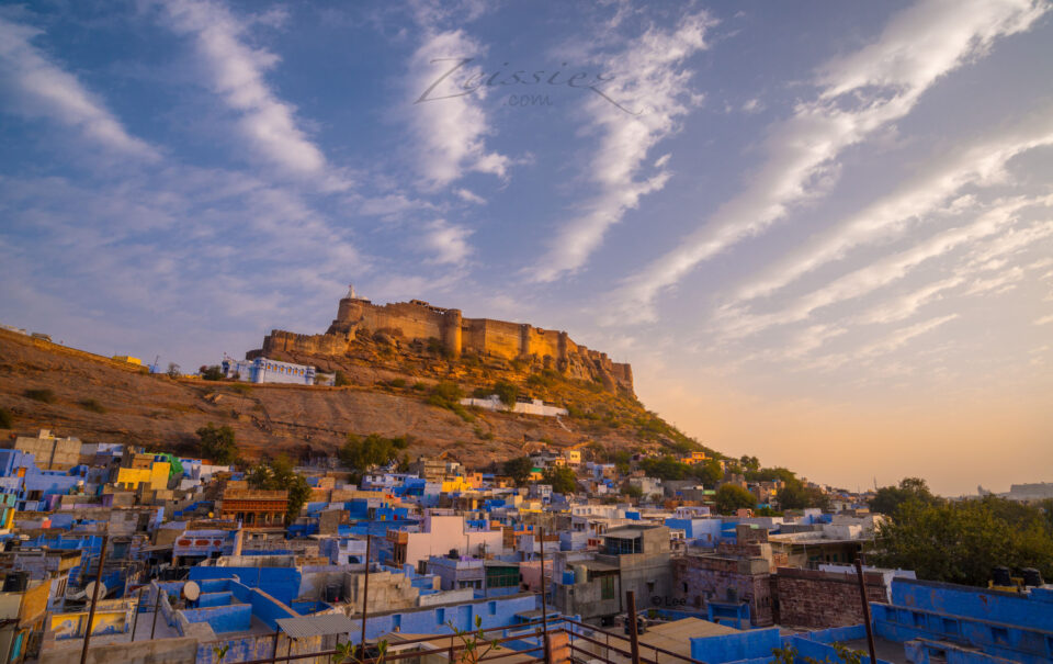 Evening Cloud over Mehrangarh Castle, India