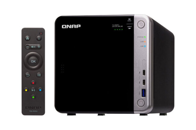 QNAP TS-453BT3 with Remote