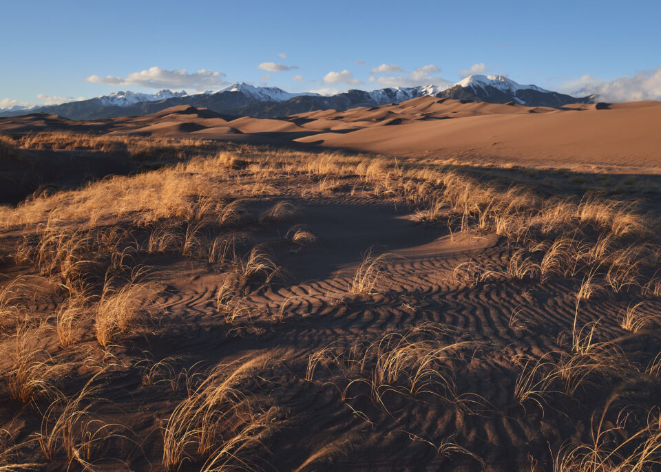 Great Sand Dunes at Sunset