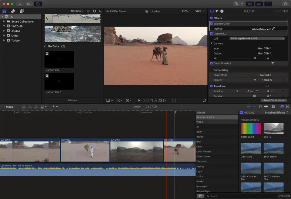 Final Cut Pro X Screenshot
