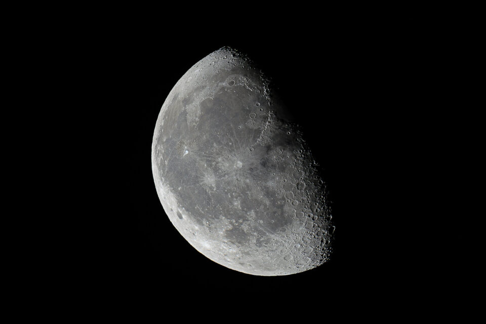 Waning Gibbous Moon, Close to Last Quarter