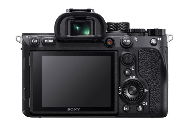 Sony A7R IV Back