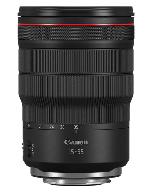 Canon 15-35mm f2.8 front view