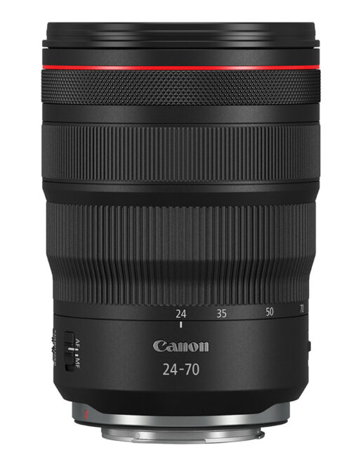 Canon 24-70mm f2.8 front