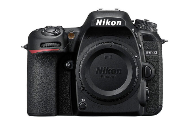 The Nikon D7500 is an advanced DX DSLR with 20 megapixels and a 51-point autofocus system.