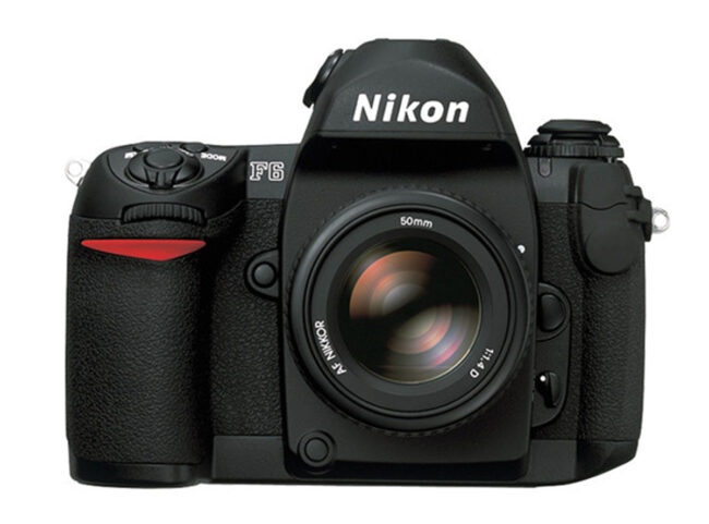 The Nikon F6 is a film SLR that Nikon still manufacturers today.