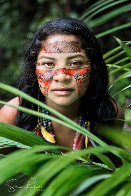 Dessana Girl – Amazon Rainforest, Brazil