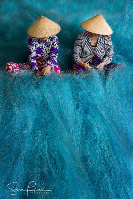 Blue Net Sea – Bac Lieu, South Mekong Delta, Vietnam