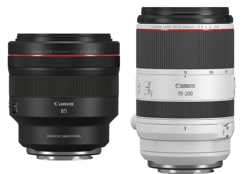 Canon announced the RF 85mm f/1.2 DS alongside the RF 70-200mm f/2.8. These lenses will ship in late 2019 for $3000 and $2700 respectively.
