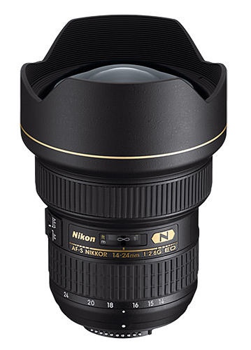 The Nikon 14-24mm f/2.8 is one of the most famous ultra-wide lenses on the market.