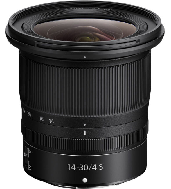 The Nikon Z 14-30mm f/4 is perhaps the best wide-angle zoom available today for Nikon cameras. However, it only works with Nikon Z mirrorless cameras, not DSLRs.