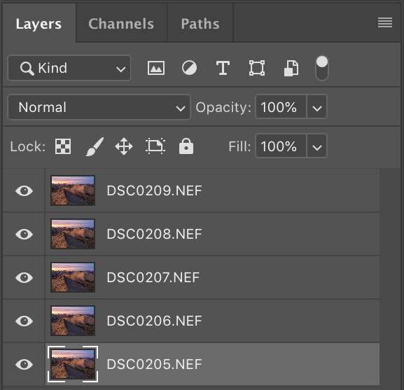 Photoshop edit as Layers