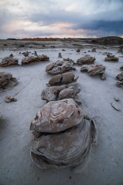 This landscape photo of New Mexico's Bisti Badlands demonstrates how wide 14mm really is. Taken with the Samyang 14mm f/2.8.