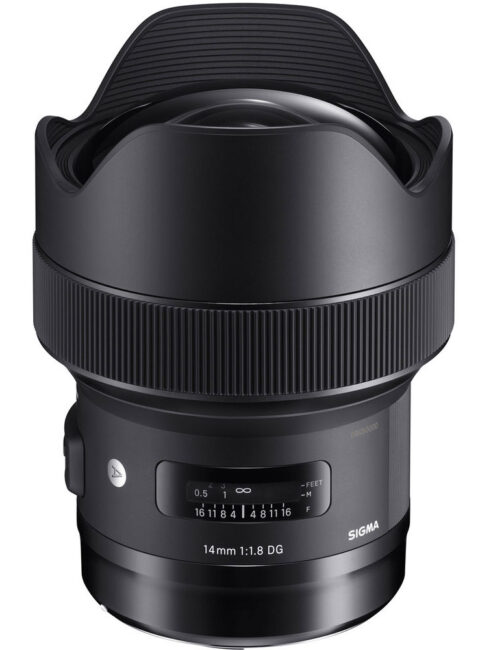 The Sigma 14mm f/1.8 Art is a specialized wide angle lens. You have to pay a premium for the f/1.8 maximum aperture, but for some Nikon shooters the extra image quality is worth it.