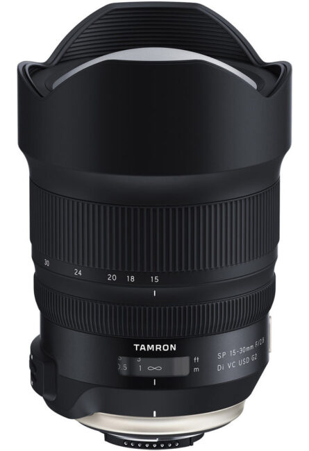 The Tamron 15-30mm f/2.8 is a large, high-quality wide angle lens for Nikon DSLRs.