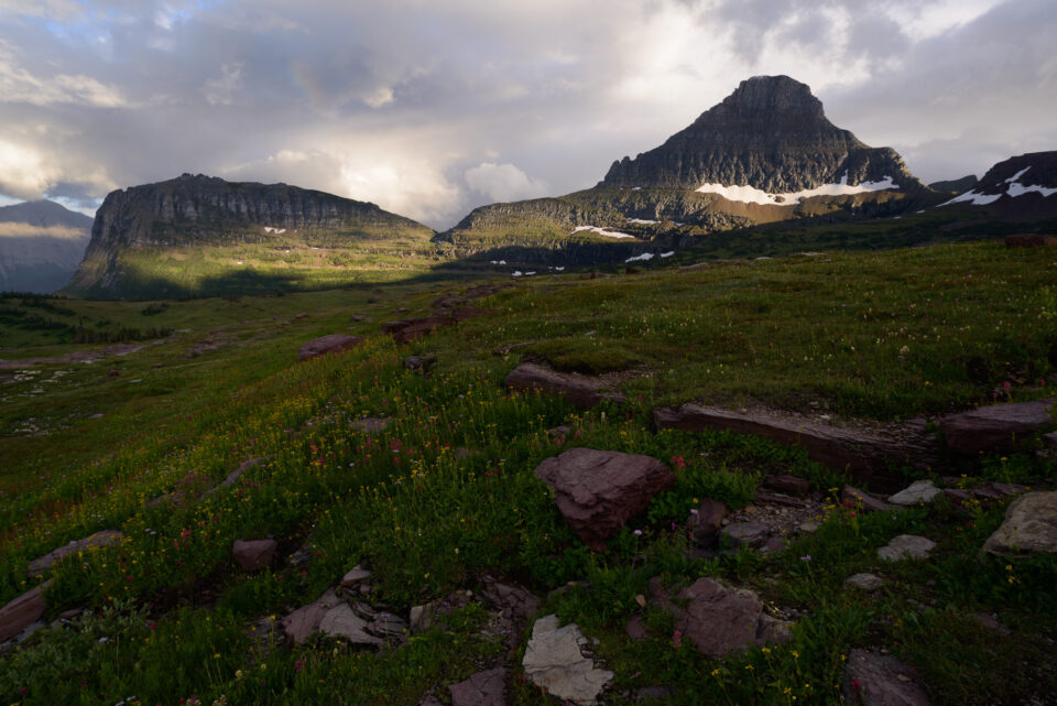 This landscape photo from Glacier National Park in Montana was taken with the Zeiss Milvus 21mm f/2.8.
