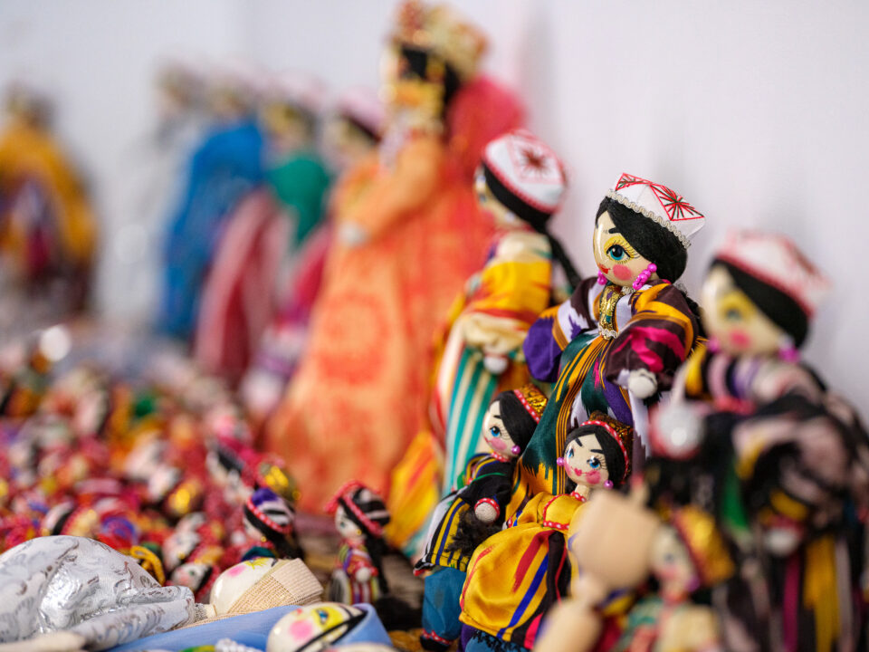 Dolls from doll makers of Andijan