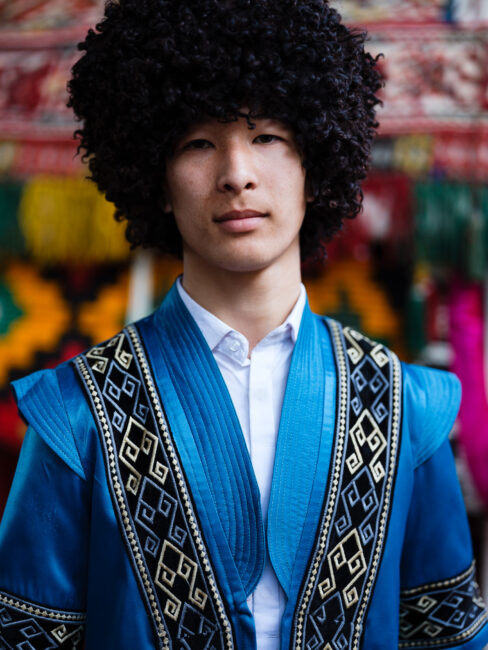 Male Karakalpak Music Performer