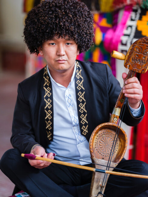 Karakalpak Music Performer