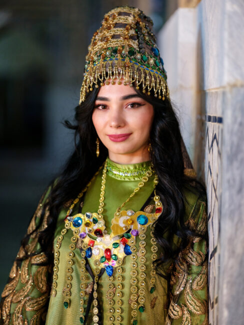 Image of a Theater Performer from Uzbekistan