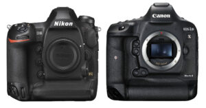 Nikon D6 vs Canon 1D X Mark III