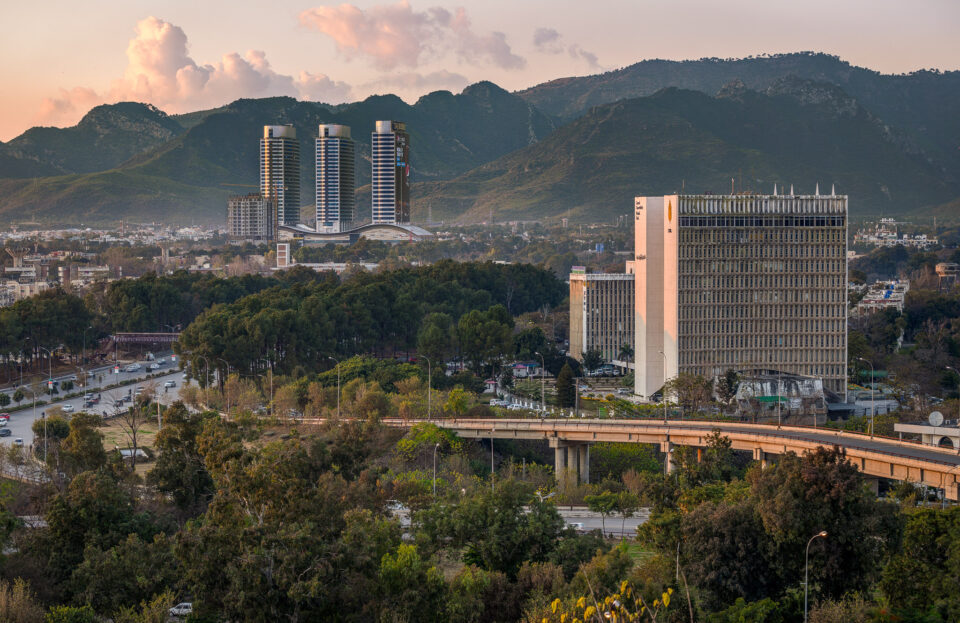 Islamabad: Pakistan's capital, washed clean by the rain and bathed in Golden Hour light against the backdrop of the Margalla Hills
