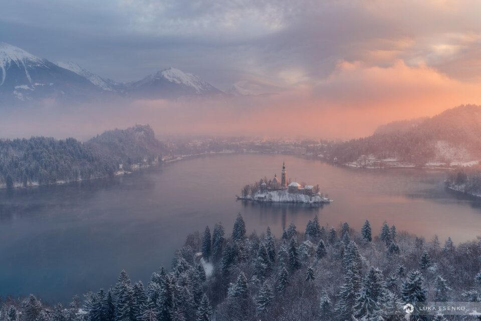 Lake Bled views from Ojstrica