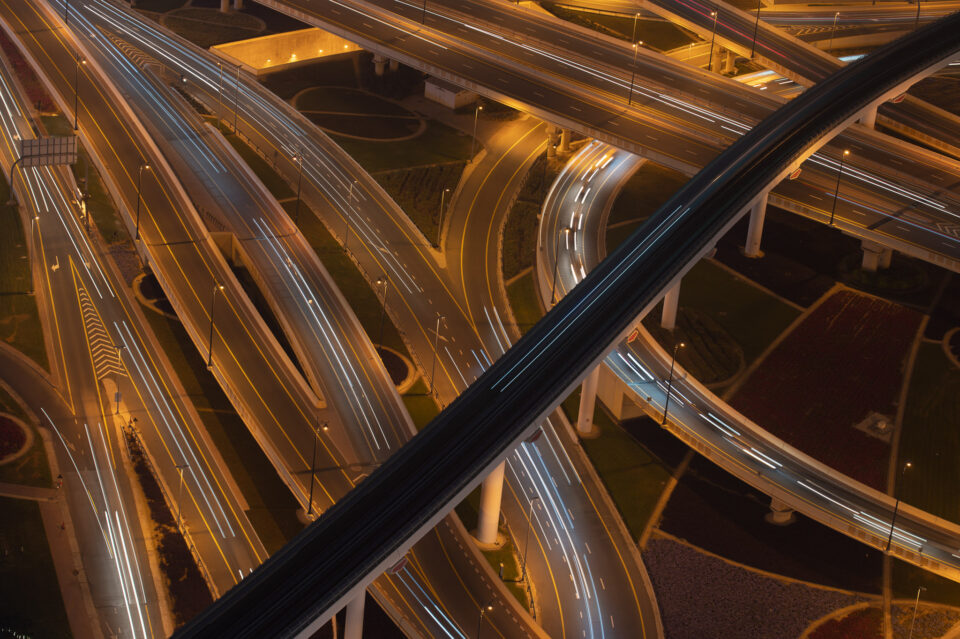 Refined Roads in Dubai Photo